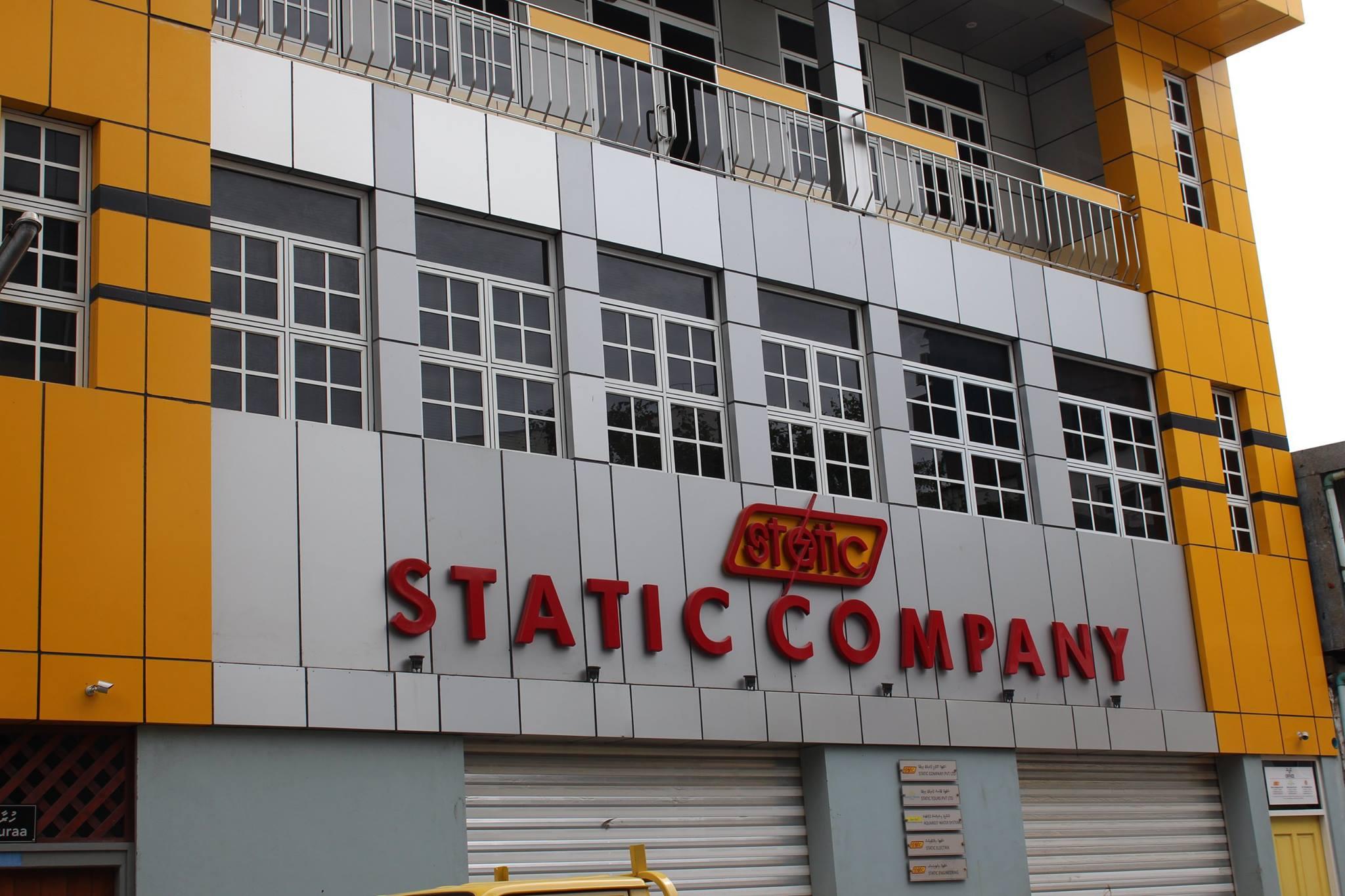 Static Company Cladding work