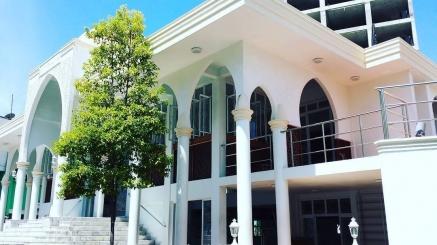 Maldives Masjid Aluminium and Glass fabrication and installation